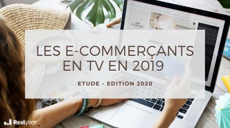 e-commerçant en TV en 2019